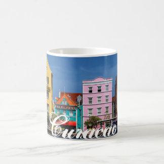 Curacao on White 11 oz Classic White Mug