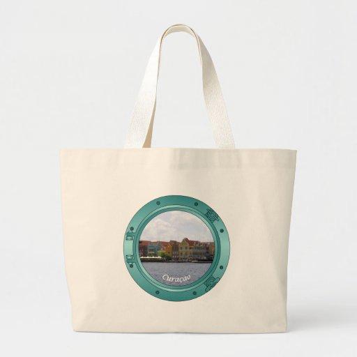 Curacao Porthole Canvas Bag