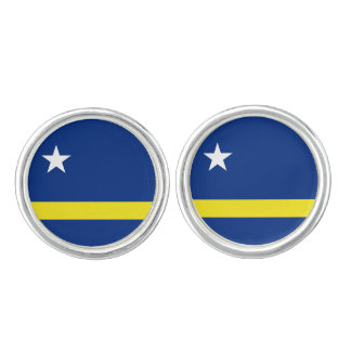 Curaçaoan flag Cufflinks