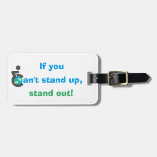 Curb Free Quote Luggage Tag