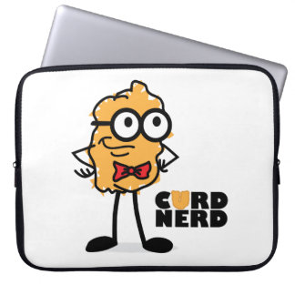 Curd Nerd Laptop Sleeve