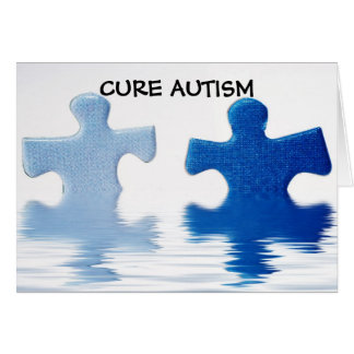 CURE AUTISM CARD