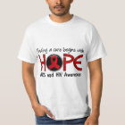Cure Begins With Hope 5 AIDS T-Shirt