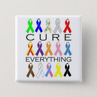 Cure Everything 2 Inch Square Button
