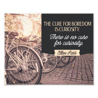 Cure For Boredome Photo Print