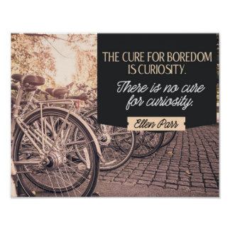 Cure For Boredome Poster