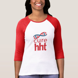 Cure HHT Ladies Baseball Jersey T-Shirt