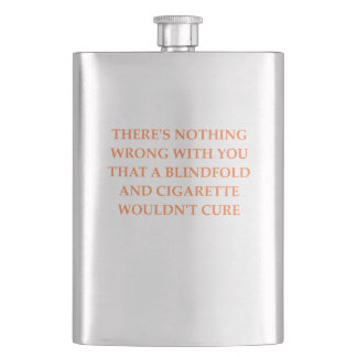 CURE HIP FLASK