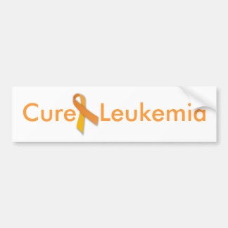 Cure Leukemia Bumper Sticker