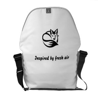 Curing ashes - inspired by fresh air courier bag
