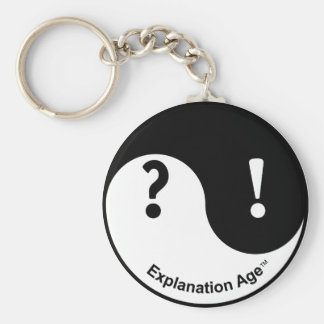 Curiosity & Conviction Keychain