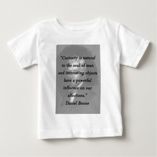 Curiosity - Daniel Boone Baby T-Shirt