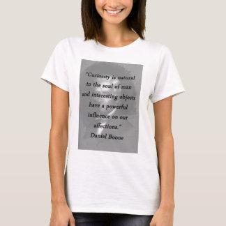 Curiosity - Daniel Boone T-Shirt