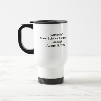 """Curiosity"" Mars Science Laboratory Mug"
