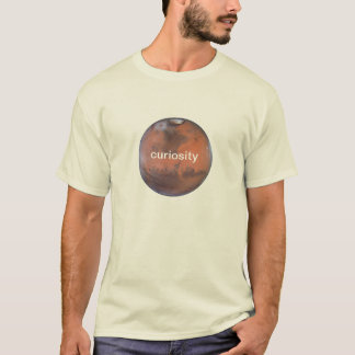 Curiosity Mars T-Shirt