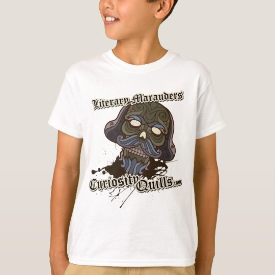 Curiosity Quills Press Literary Marauder Design T-Shirt