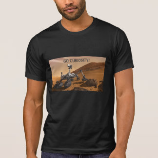 Curiosity Rover on Mars T-Shirt