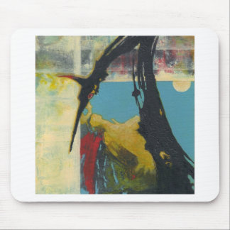 Curiosity the abstract dragon mouse pad
