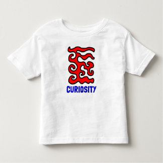"""""""Curiosity"""" Toddler Fine Jersey T-Shirt"""