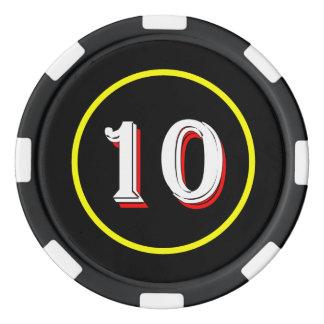 Curioso Podcast poker chip