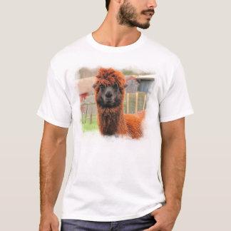 Curious Alpaca ~ T T-Shirt