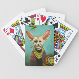 Curious As A Fox Bicycle Playing Cards
