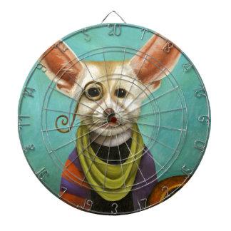Curious As A Fox Dartboard