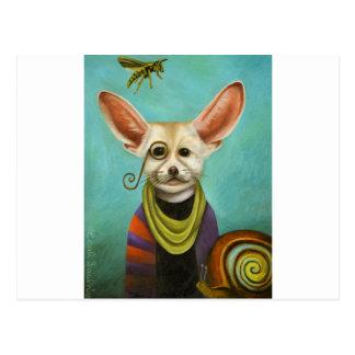 Curious As A Fox Postcard