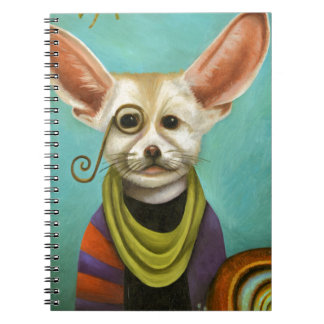 Curious As A Fox Spiral Note Books