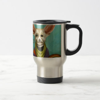 Curious As A Fox Travel Mug