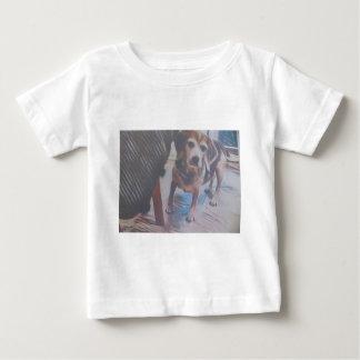 Curious Beagle Baby T-Shirt