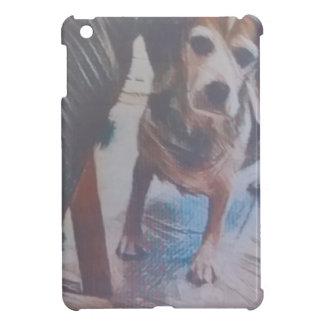 Curious Beagle iPad Mini Cover