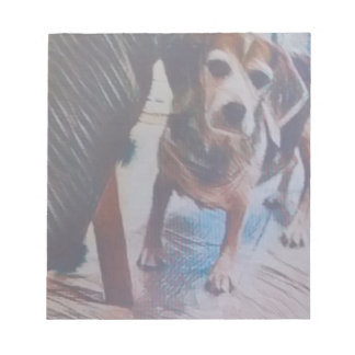 Curious Beagle Notepad