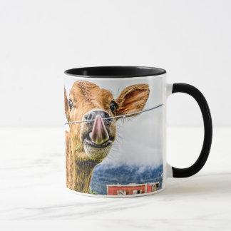 Curious Calf Mug