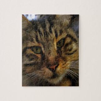 Curious Cat Jigsaw Puzzle