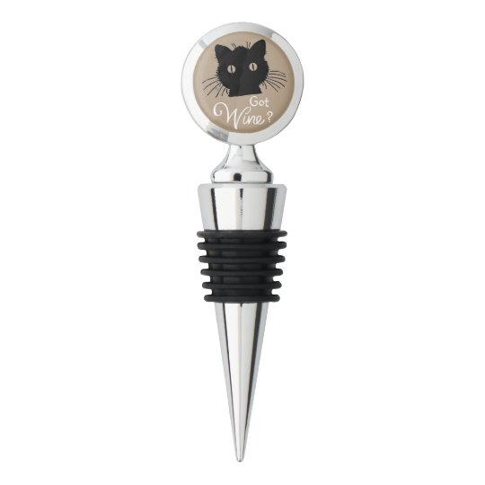 Curious Cat Wine Stopper