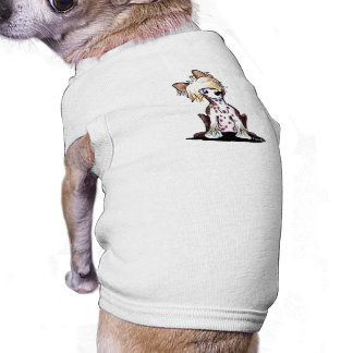 Curious Chinese Crested Doggie T-shirt
