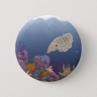 Curious Cuttlefish 2 Inch Round Button