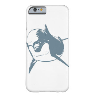 Curious Dolphin Barely There iPhone 6 Case