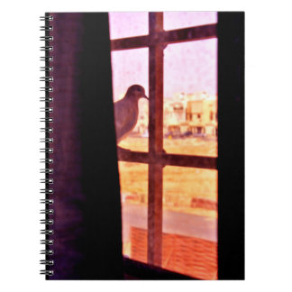 Curious Dove Spiral Notebook