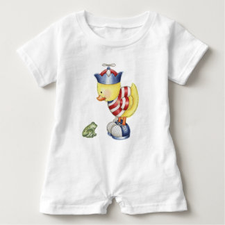 Curious Duck Baby Romper