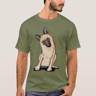 Curious German Shepherd T-Shirt