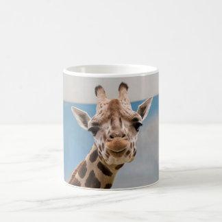 Curious Giraffe Coffee Mug
