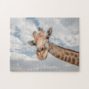 Curious Giraffe Jigsaw Puzzle