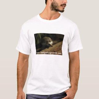 Curious hedgehog tshirt
