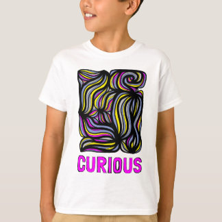 """Curious"" Kids' Hanes TAGLESS® T-Shirt"