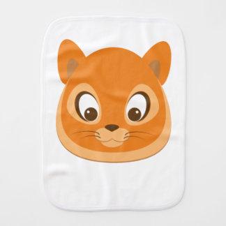 Curious Kitten Burp Cloth