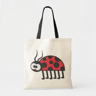 Curious Ladybug Tote Bag