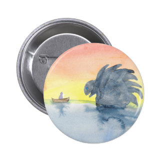 Curious Meeting 2 Inch Round Button