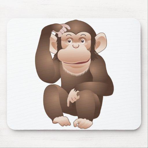 Curious Monkey Mouse Mats
